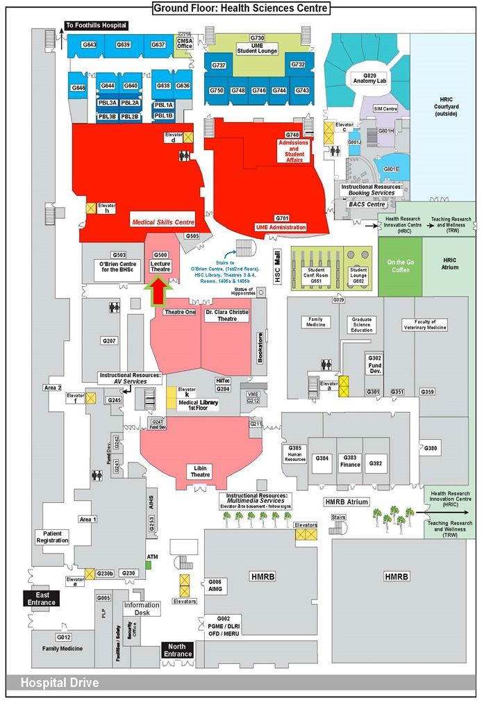 Health Sciences Centre Map How to Connect Talent with Career Opportunities::Notes from  Health Sciences Centre Map